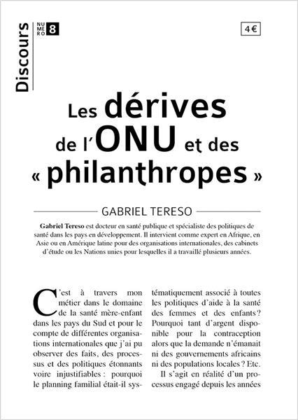 discours-n-8-les-derives-de-l-onu-et-des-philanthropes