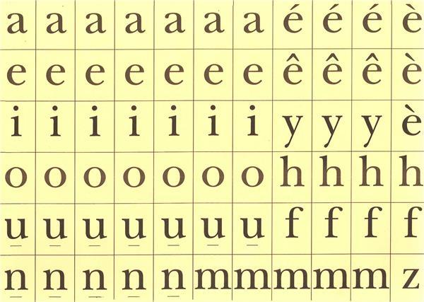Jqr dict e sans crayon 132 lettres d couper pierre tequi editeur religieux - Lettre a decouper ...