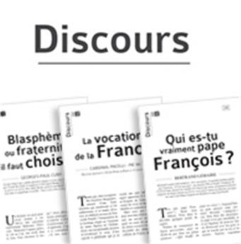 Souscription à la collection Discours