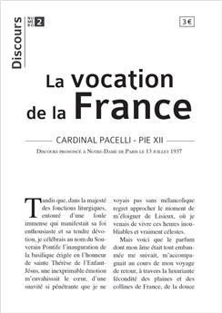 Discours n°2 - La vocation de la France