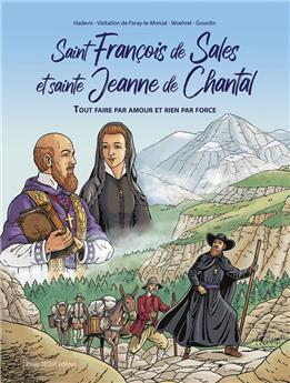 Saint François de Sales et sainte Jeanne de Chantal (BD)