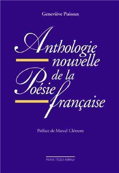 Anthologie nouvelle de la poésie française