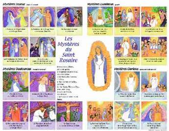 Poster Les Mystères du Saint Rosaire