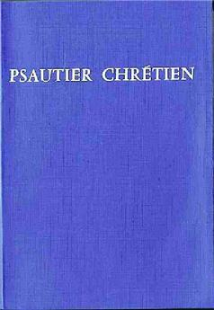 Psautier chrétien - poche