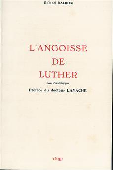 L'angoisse de Luther