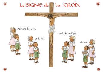 Carte Le Signe de la Croix (à l'unité)