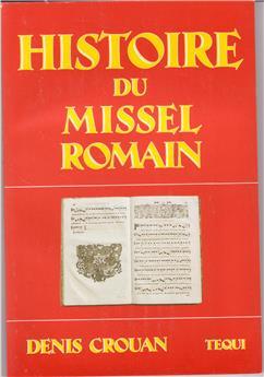 Histoire du missel romain (PROMO21)