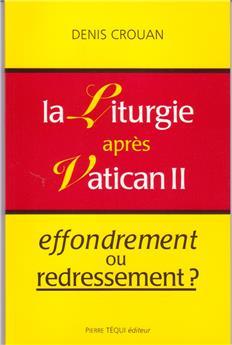 La liturgie après Vatican II
