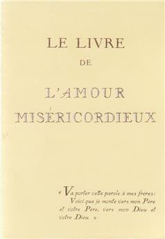 Le livre de l'Amour miséricordieux