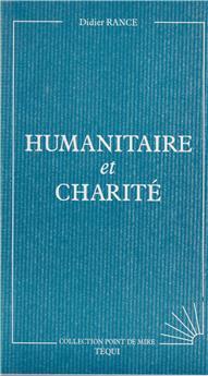 Humanitaire et charité