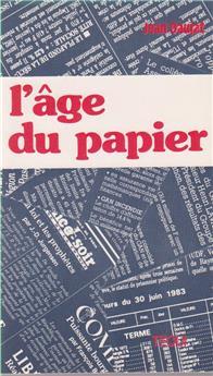 L'âge du papier