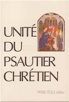 Unité du psautier chrétien