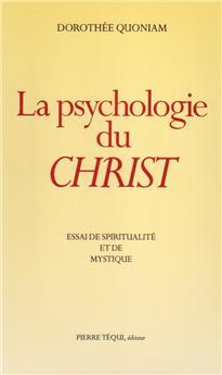 La psychologie du Christ (PROMO21)