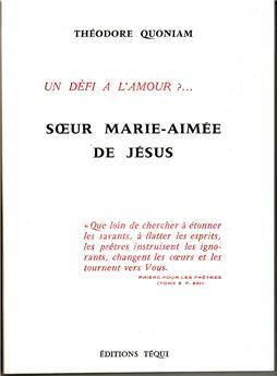 Sœur Marie-Aimée de Jésus