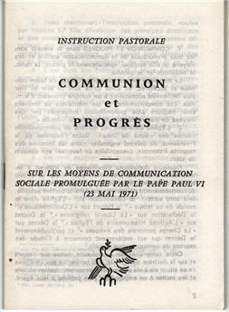 Communion et progrès