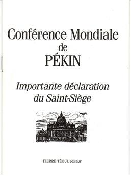Conférence mondiale de Pékin