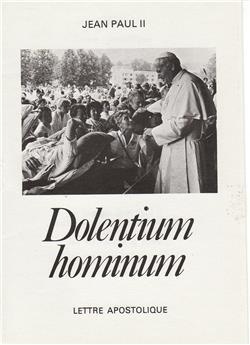 Dolentium hominum - Le monde de la souffrance