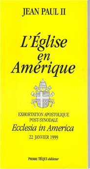 L'Église en Amérique - Ecclesia in America