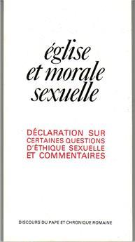 Église et morale sexuelle