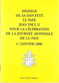 MESSAGE JOURNEE PAIX 2000
