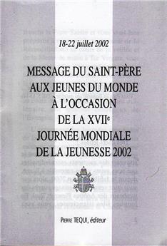 MESSAGE JMJ 2002