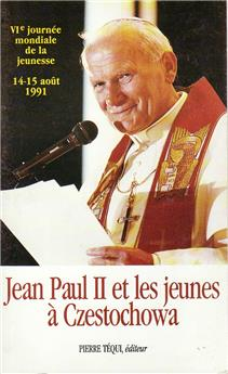 Jean-Paul II et les jeunes à Czestochowa