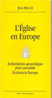 Ecclesia in Europa - L'Église en Europe