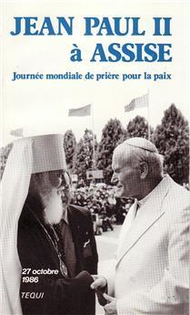 Jean-Paul II à Assise, 27 octobre 1986