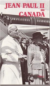 Jean-Paul II au Canada - 1984