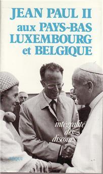 Jean-Paul II aux Pays-Bas, Luxembourg et Belgique
