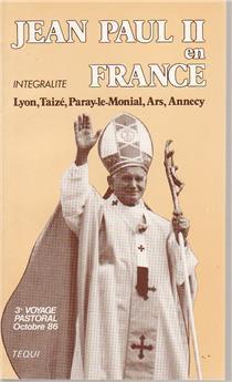 Jean-Paul II en France - 1986