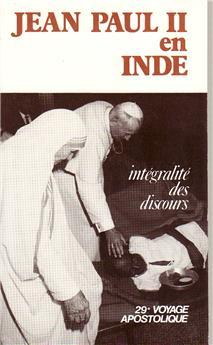 Jean-Paul II en Inde, 1-8 février 1986