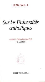 Sur les Universités catholiques