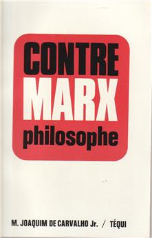 Contre Marx philosophe