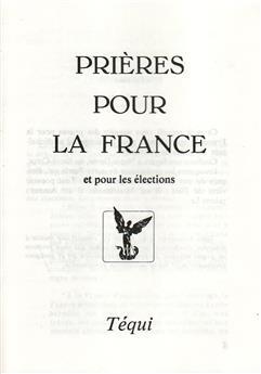 Prières pour la France et pour les élections