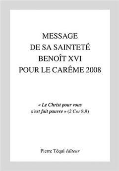 Message Carême 2008