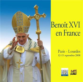 Benoît XVI en France (3CD)