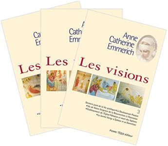 Les visions d'Anne-Catherine Emmerich - Lot des 3 tomes