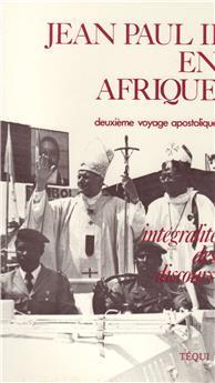Jean-Paul II en Afrique, 12-19 février 1982