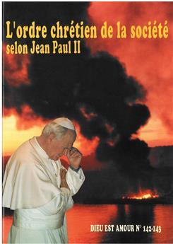 DEA 142-143 - L'ordre chrétien de la société selon Jean-Paul II