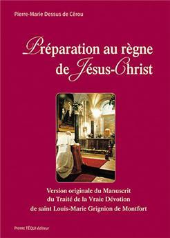 Préparation au règne de Jésus-Christ