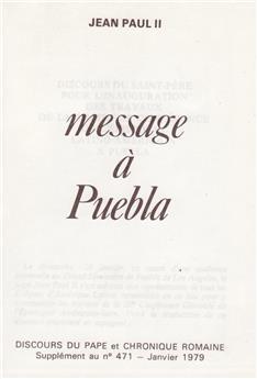 Message à Puebla