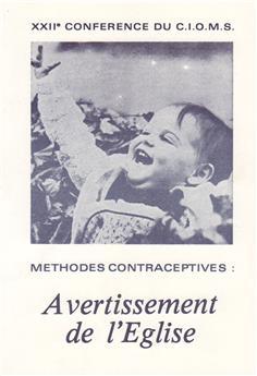 Méthodes contraceptives : avertissement de l'Église