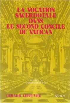 La vocation sacerdotale dans le second concile du Vatican