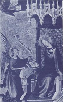 Neuvaine de neuf mois Annonciation à Noël avec angélus