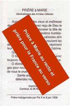 Prière pour la France (image)