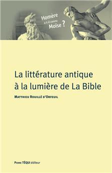 La littérature antique à la lumière de la Bible (PROMO21)