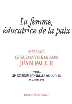 La femme éducatrice de la paix (1er janvier 1995)