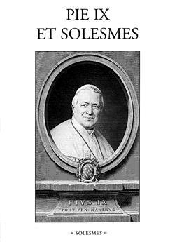 Pie IX et Solesmes