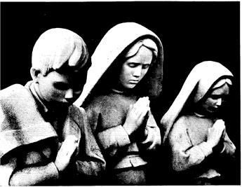 Prières enseignées aux trois enfants de Fatima (carte)